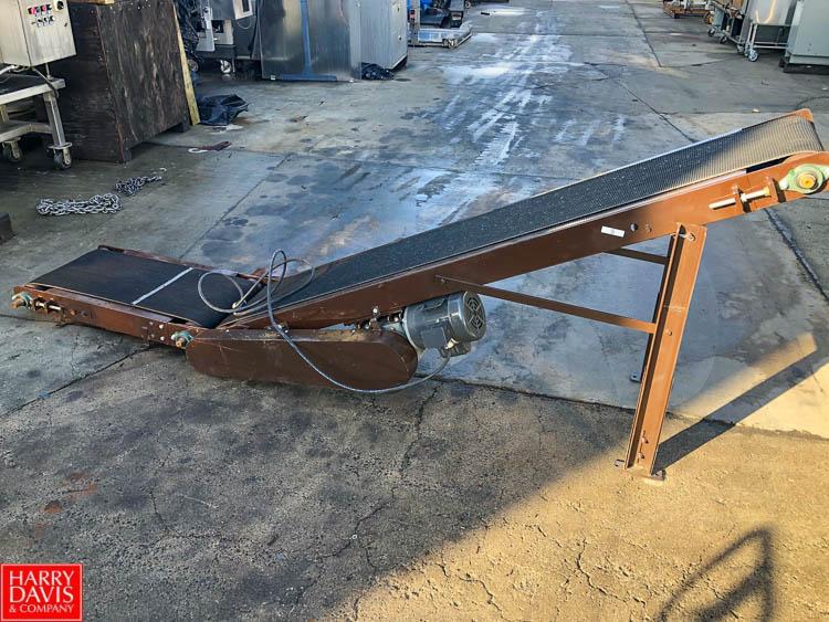 "Lot 23 - 10' Length Incline Conveyor, 14"" Width, with Conveyor Drive"