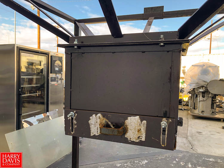 """54"""" Square Bag Holding Cage and Bag Dumping Station, 52"""" Discharge Height **SUBJECT TO BULK - Image 3 of 3"""