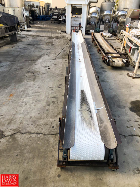 "Lot 13 - 32' Length Conveyor, 14"" Width, With Multi Drive Speed Controller and Conveyor Drive **SUBJECT TO"