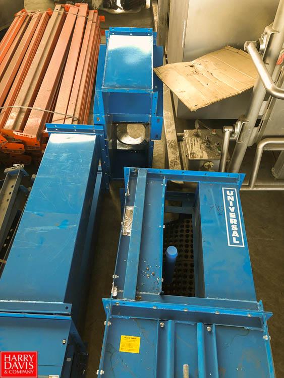 "25' Bucket Conveyor, with 8"" Width x 5"" Depth Buckets"