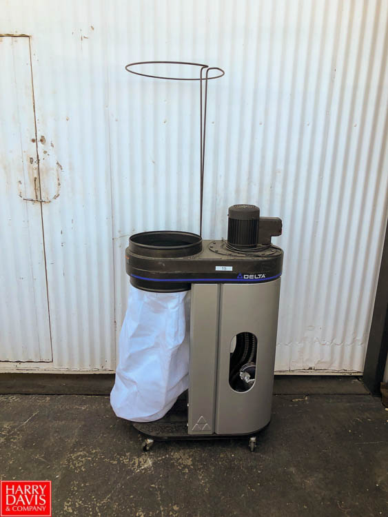 Lot 21 - Product Cleaner and (2) Delta 50-720 Dust Collectors **SUBJECT TO BULK BIDDING**