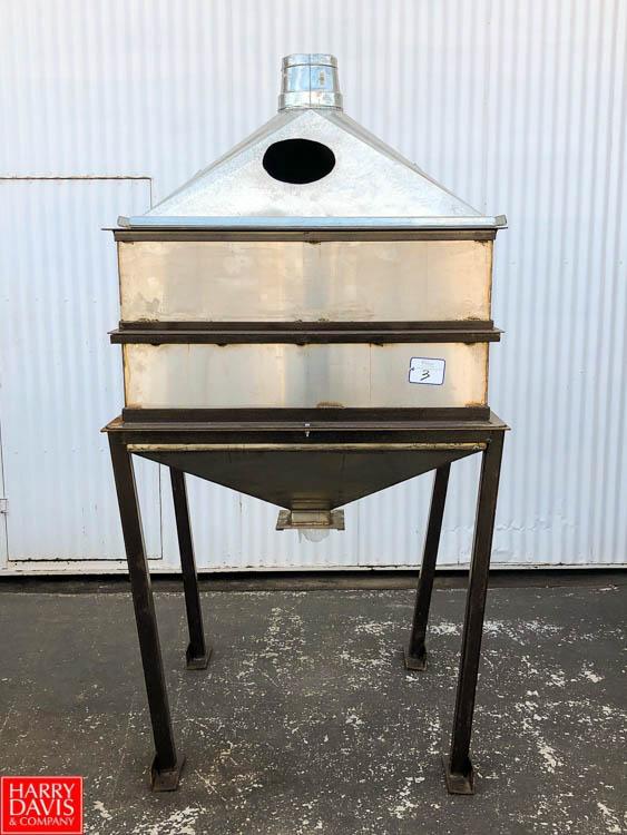 Enclosed S/S Feed Hopper **SUBJECT TO BULK BIDDING**