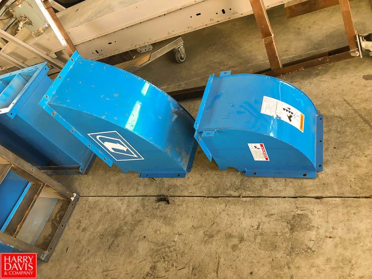 "25' Bucket Conveyor, with 8"" Width x 5"" Depth Buckets - Image 3 of 10"