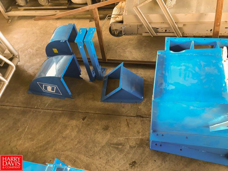 "25' Bucket Conveyor, with 8"" Width x 5"" Depth Buckets - Image 6 of 10"