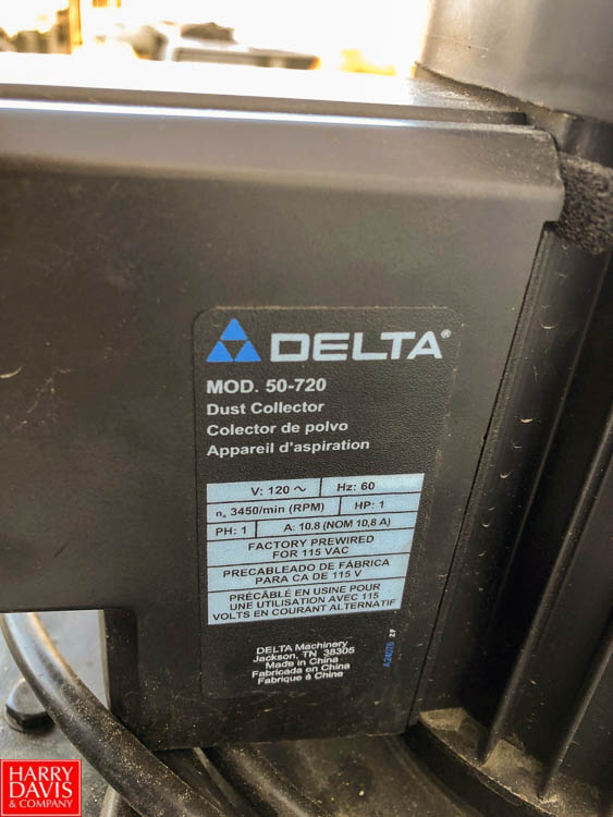 Product Cleaner with (2) Delta 50-720 Dust Collectors **SUBJECT TO BULK BIDDING** - Image 8 of 9