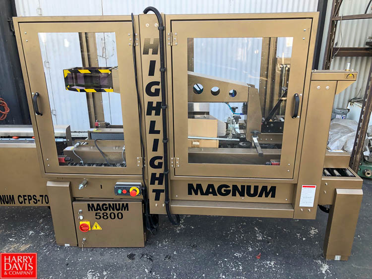 Magnum 700 Case Former and Magnum 5800 Top and Bottom Case Sealer **SUBJECT TO BULK BIDDING** - Image 6 of 10