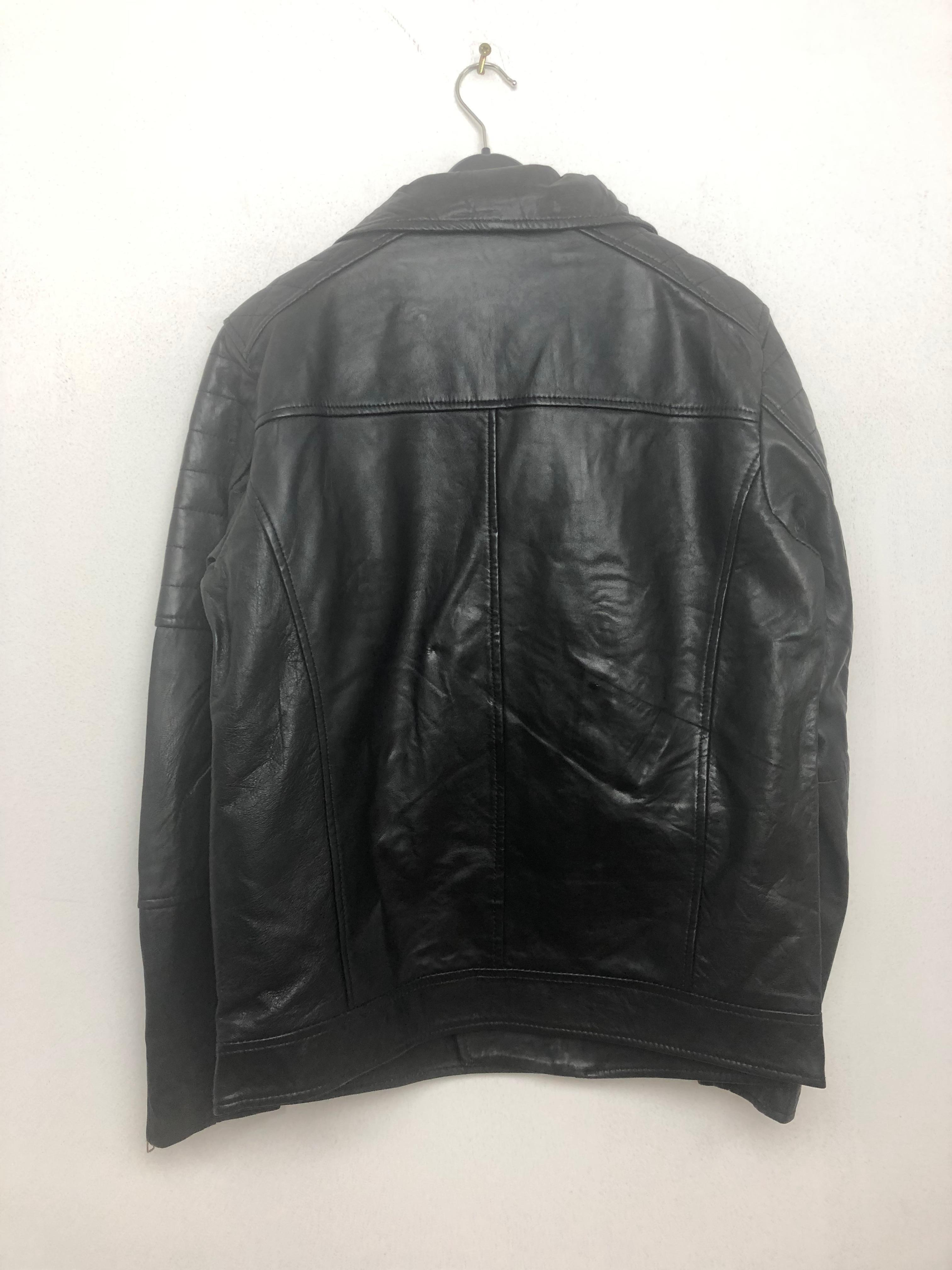 Approx. 200 x Black Leather Jacket - Image 2 of 4
