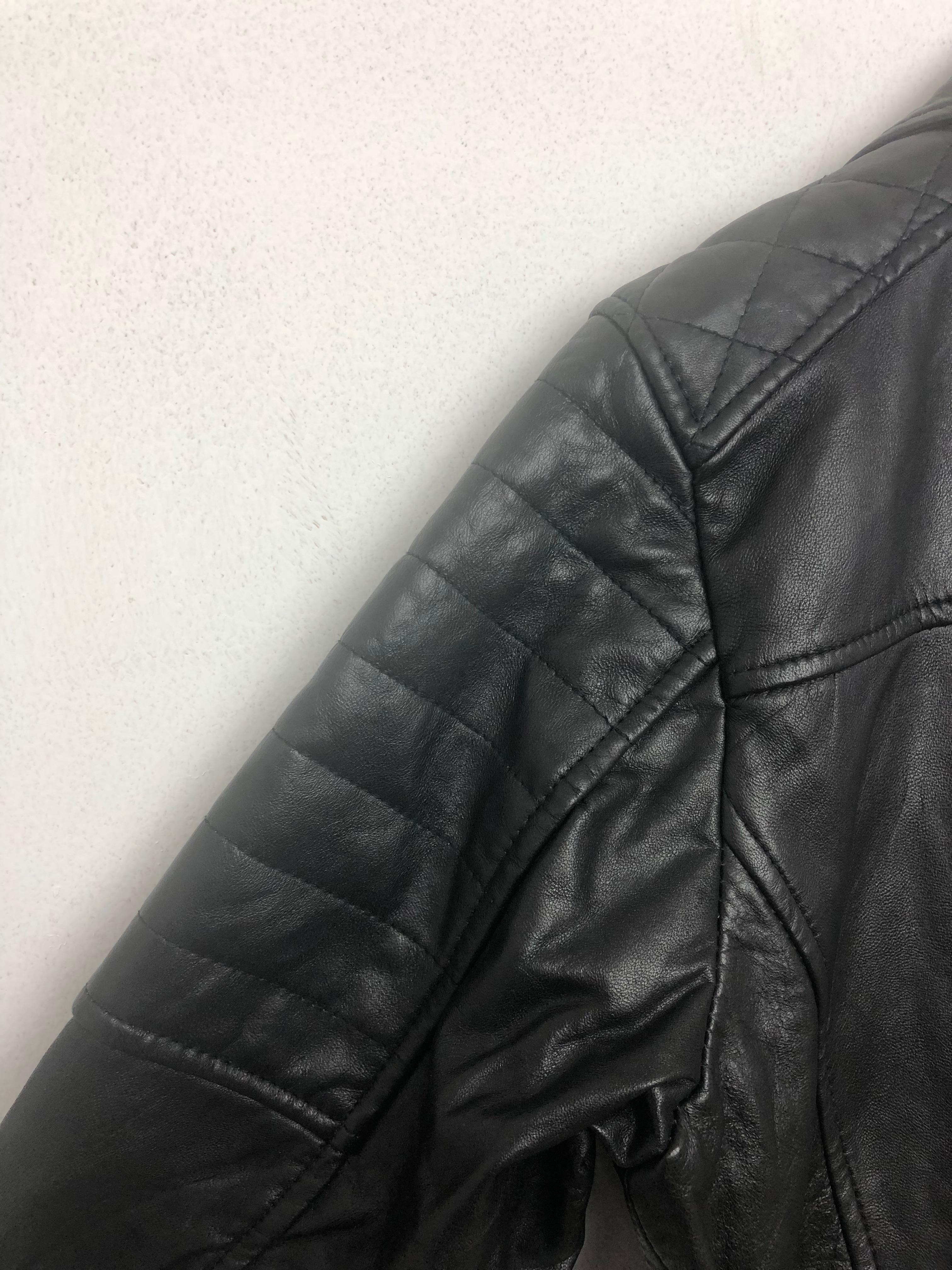 Approx. 200 x Black Leather Jacket - Image 3 of 4