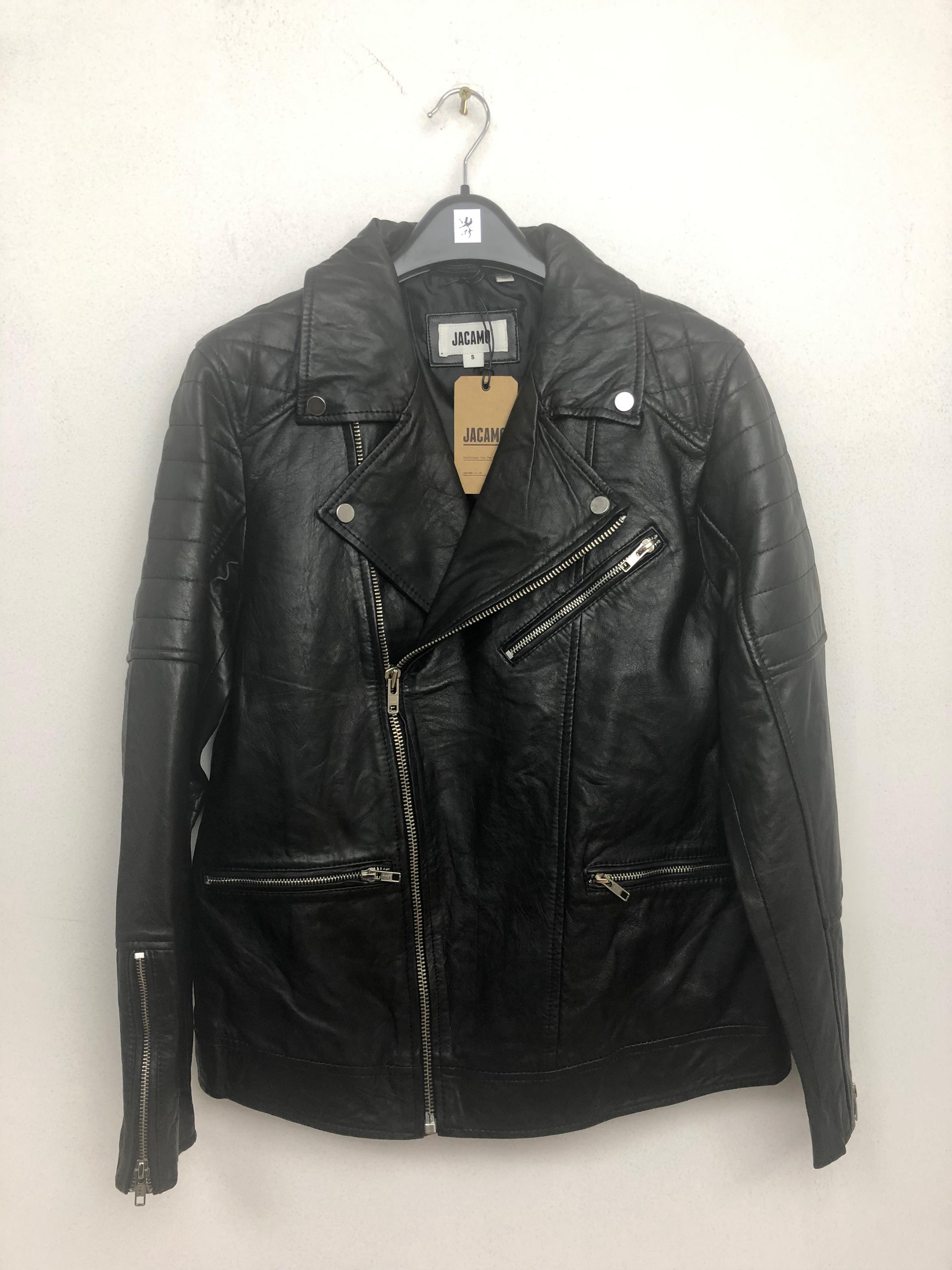 Approx. 200 x Black Leather Jacket