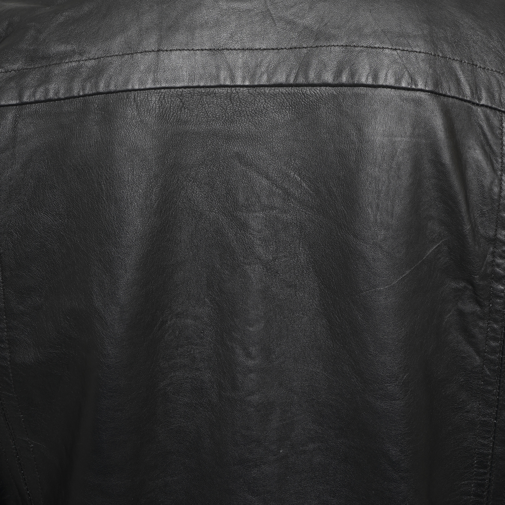 Approx. 200 x Black Leather Jacket - Image 4 of 4