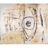 Albert Oehlen * (Krefeld 1954 geb.) Ohne Titel Öl auf druckgrafischer Basis (Siebdruck) auf Bütten