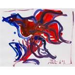 Otto Mühl (Grodnau 1925 - 2013 Moncarapacho) Ohne Titel Aquarell auf Papier 28,5 x 36 cm (