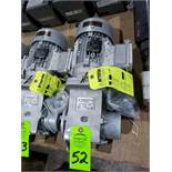 Nord Systems 10.83:1 gearbox and motor. Type SK92172.1AMHD-80S/4CUS and SK80S/4CUS. NEW.