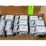 Large Qty of Allen Bradley Contactors in assorted sizes and part numbers.