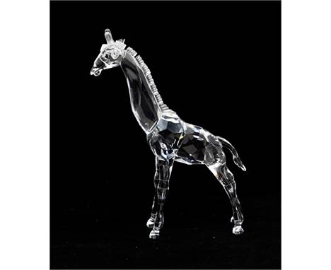 Swarovski Collections of a giraffe with box