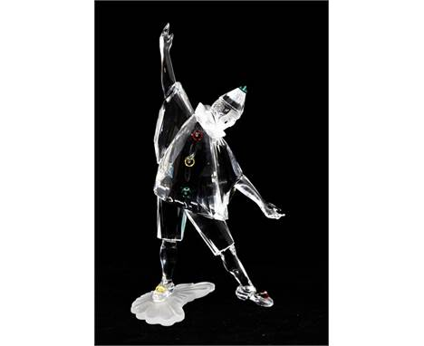 Swarovski Collections 1999 Pierrot figure with box and certificate