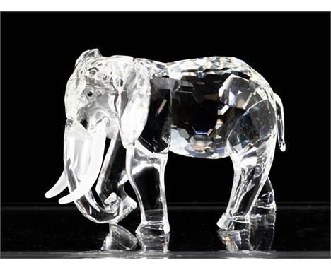 Swarovski Collections Inspiration, Africa, The Elephant, with box and certificates, 1993