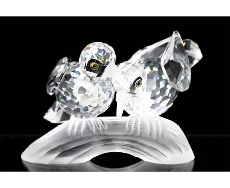 Swarovski collection, Turtle Doves with Box and Certificate