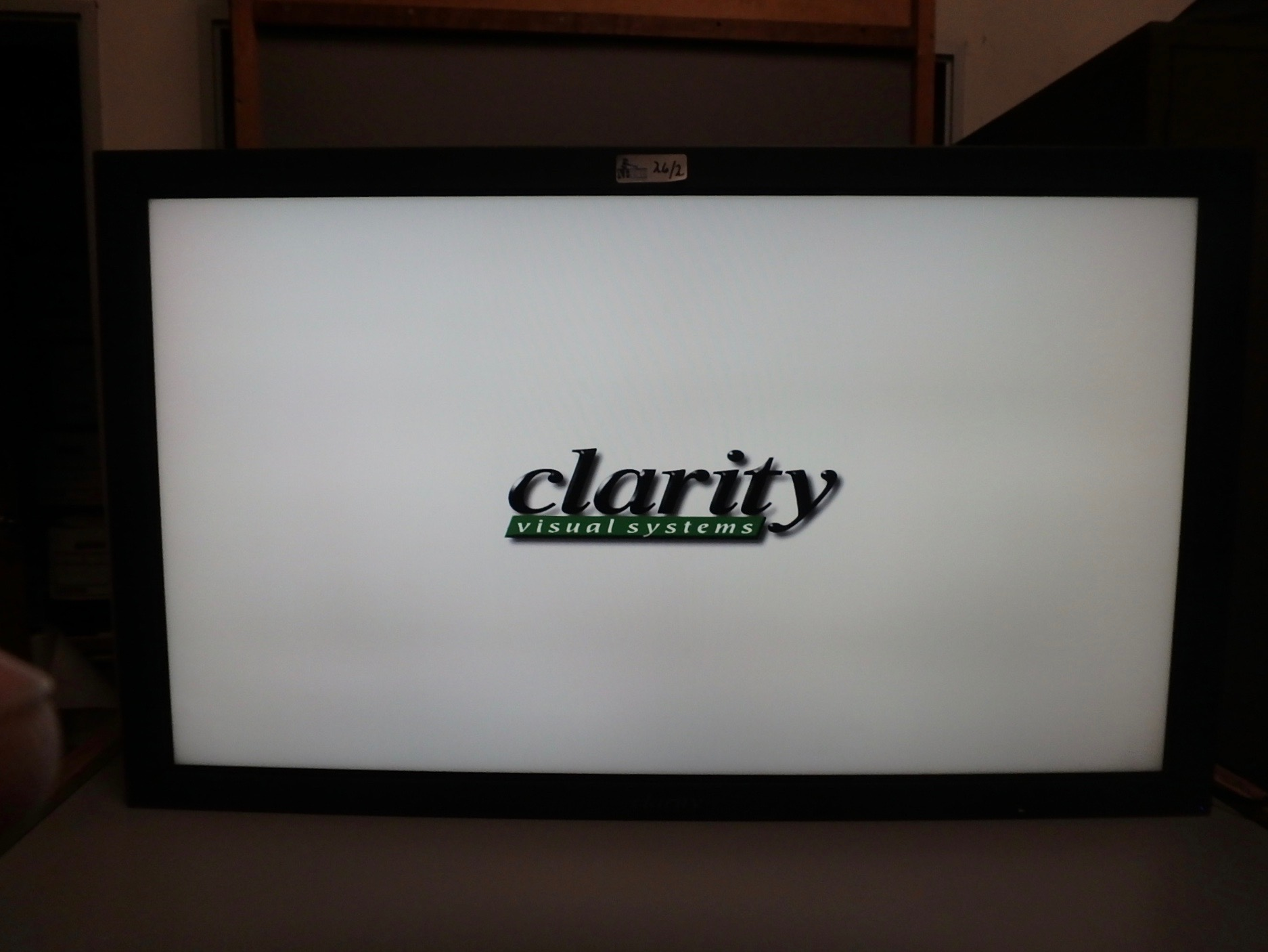Lot 26 - CLARITY LCD