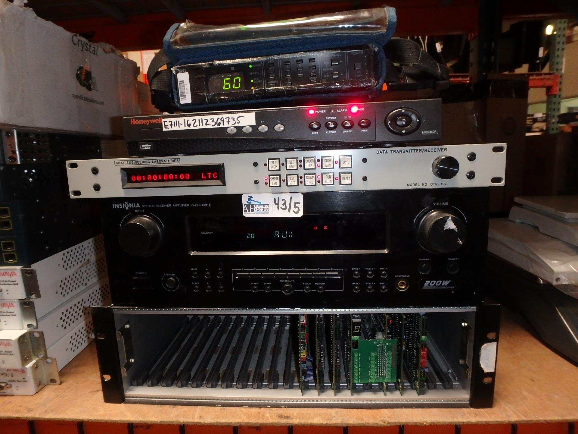 Lot 43 - LOT OF 5 ELECTRONICS