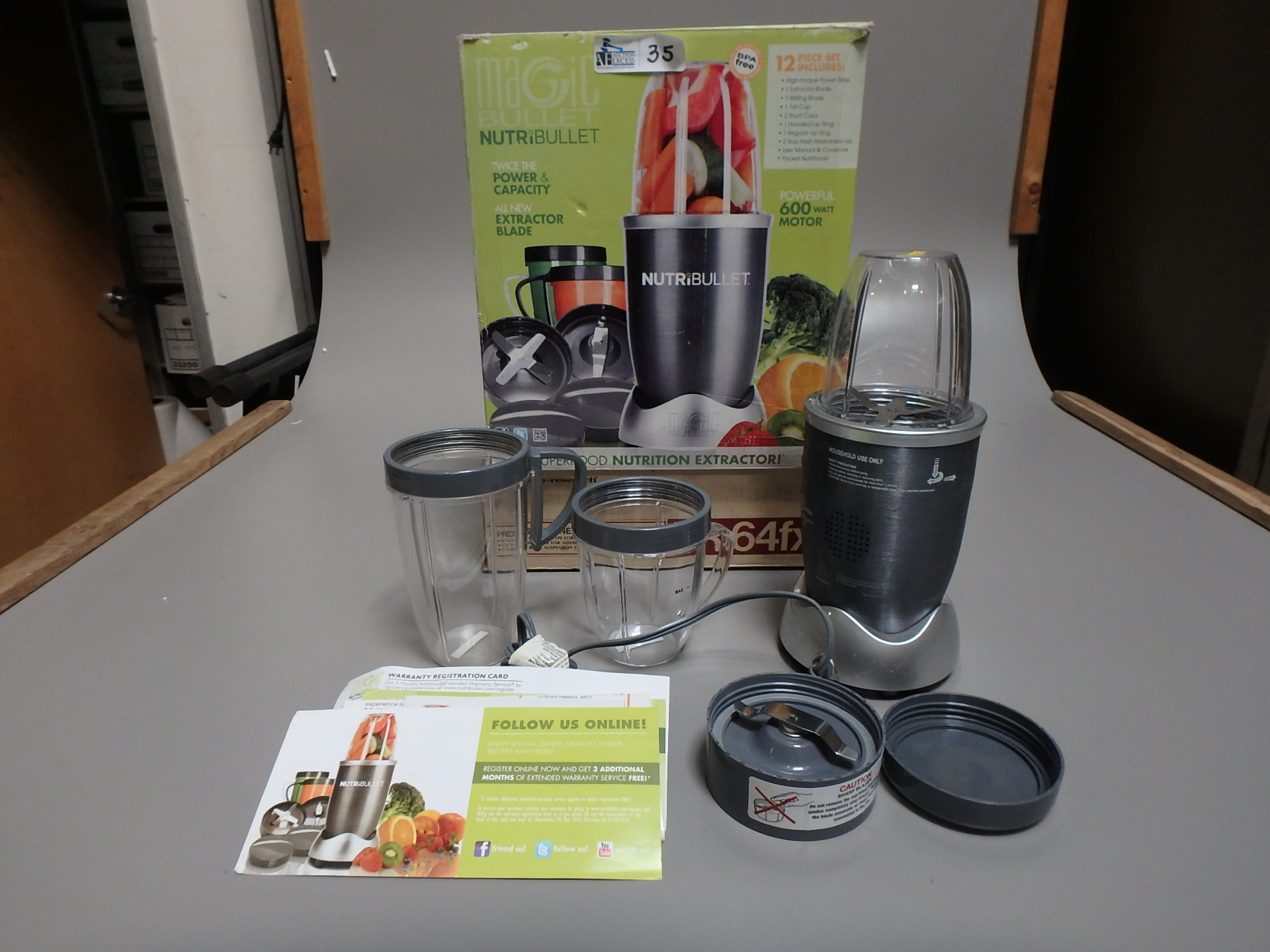 Lot 35 - NUTRIBULLET