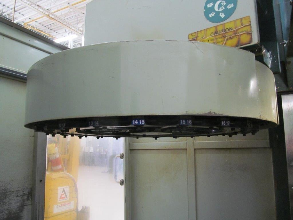 Lot 4 - FEELER FV-800 APC FANUC 18M CNC CONTROL
