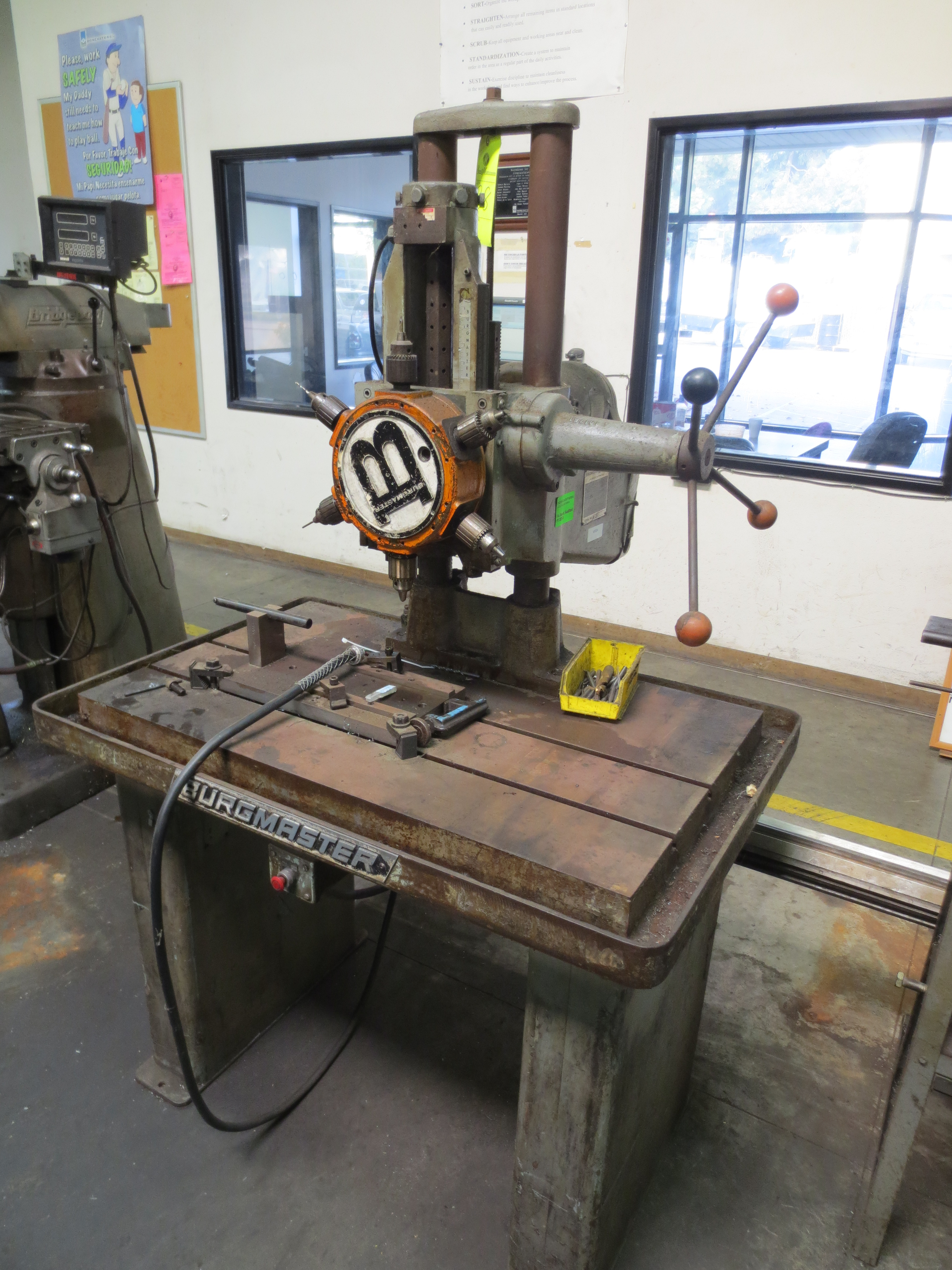 Lot 38 - Burgmaster Houdaille 6-Spindle Auto Indexing Turret Drill Press--40