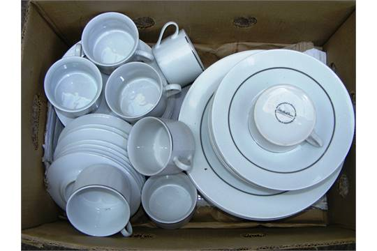 & An Antony Worrall Thompson dinner service.