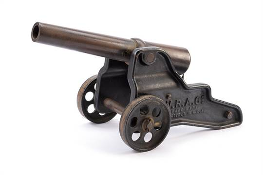 A Winchester signal cannon dating: circa 1900 provenance: USA Iron