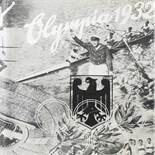 """Sammelbilderalbum zur Olympiade 1932 """"Die Olympischen Spiele in Los Angeles 1932"""", hrsg. vom"""