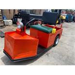 CUSHMAN ELECTRIC CART, BUILT IN CHARGER, RUNS AND OPERATES