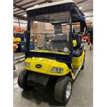 STAR ELECTRIC GOLF CART, REAR PASSENGER SEATING, ROLL DOWN COVERS, BATTERY CHARGER, RUNS AND DRIVES