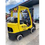 HYSTER FORTIS 60 FORKLIFT, S60FT, LP FINGERTIP CONTROLS, MONOTROL PEDAL, RUNS AND OPERATES