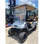 2013 EZ-GO ELECTRIC GOLF CART, BUILT IN BATTERY CHARGER, 4-SEATER, RUNS & DRIVES