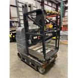 2008 JLG 20MVL ELECTRIC MAN LIFT, SELF PROPELLED, BUILT IN BATTERY CHARGER, 19.5' PLATFORM HEIGHT