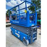 GENIE GS-2632 MAN LIFT, EXTENDABLE PLATFORM, 306HOURS SHOWING, RUNS AND OPERATES