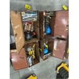 FOUR KNAACK TOOL BOXES WITH CONTENTS/TOOLS