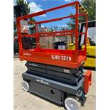SKYJACK SJIII 3219 SCISSOR LIFT, 312 HOURS SHOWING, 24V, BUILT IN CHARGER, RUNS AND OPERATES