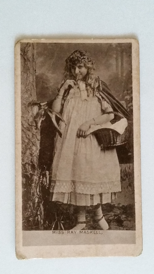 Lot 2133 - OGDENS, Actresses (collotype), Miss Ray Maskell, printed back, corner knocks, G