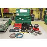 Greenlee tool box w/contents