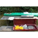 Picnic table w/ pond accessories