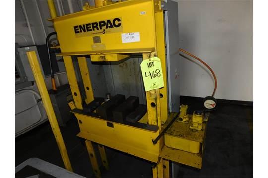 Enerpac 50 Ton Manual Hydraulic Press