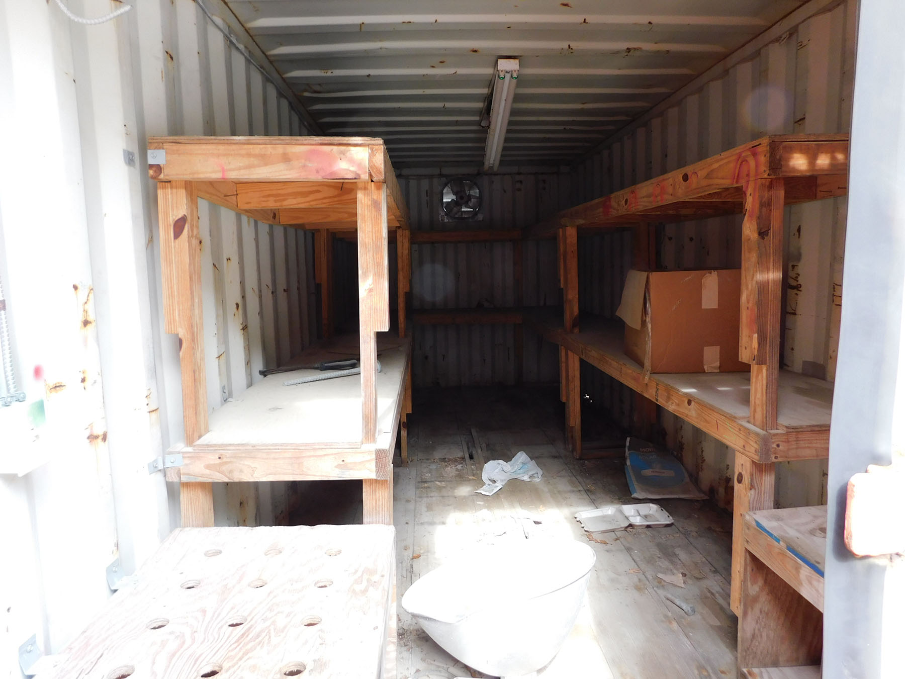 Lot 2041 - STORAGE CONTAINER