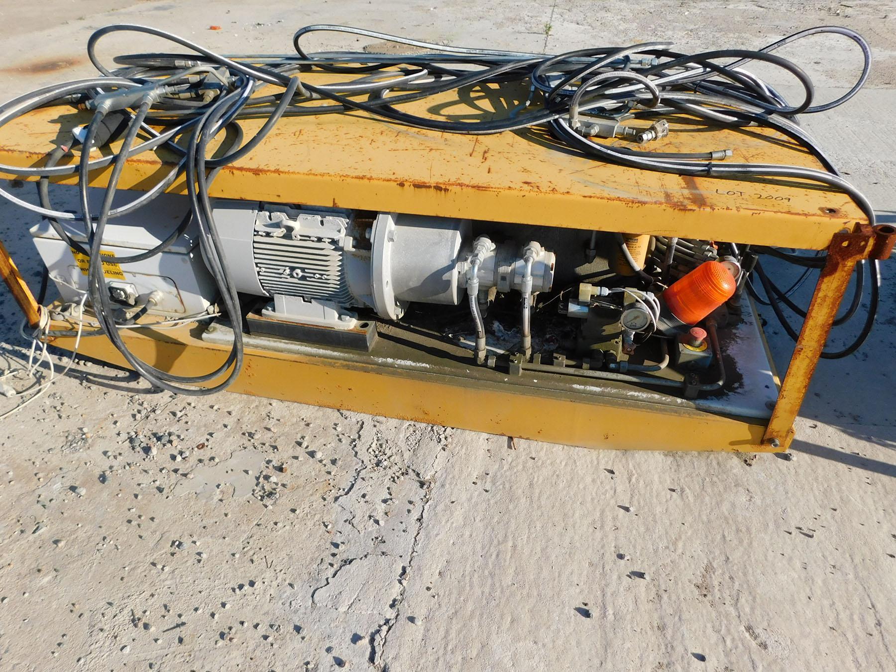 Lot 2009 - HYDRAULIC PUMP POWER STATION