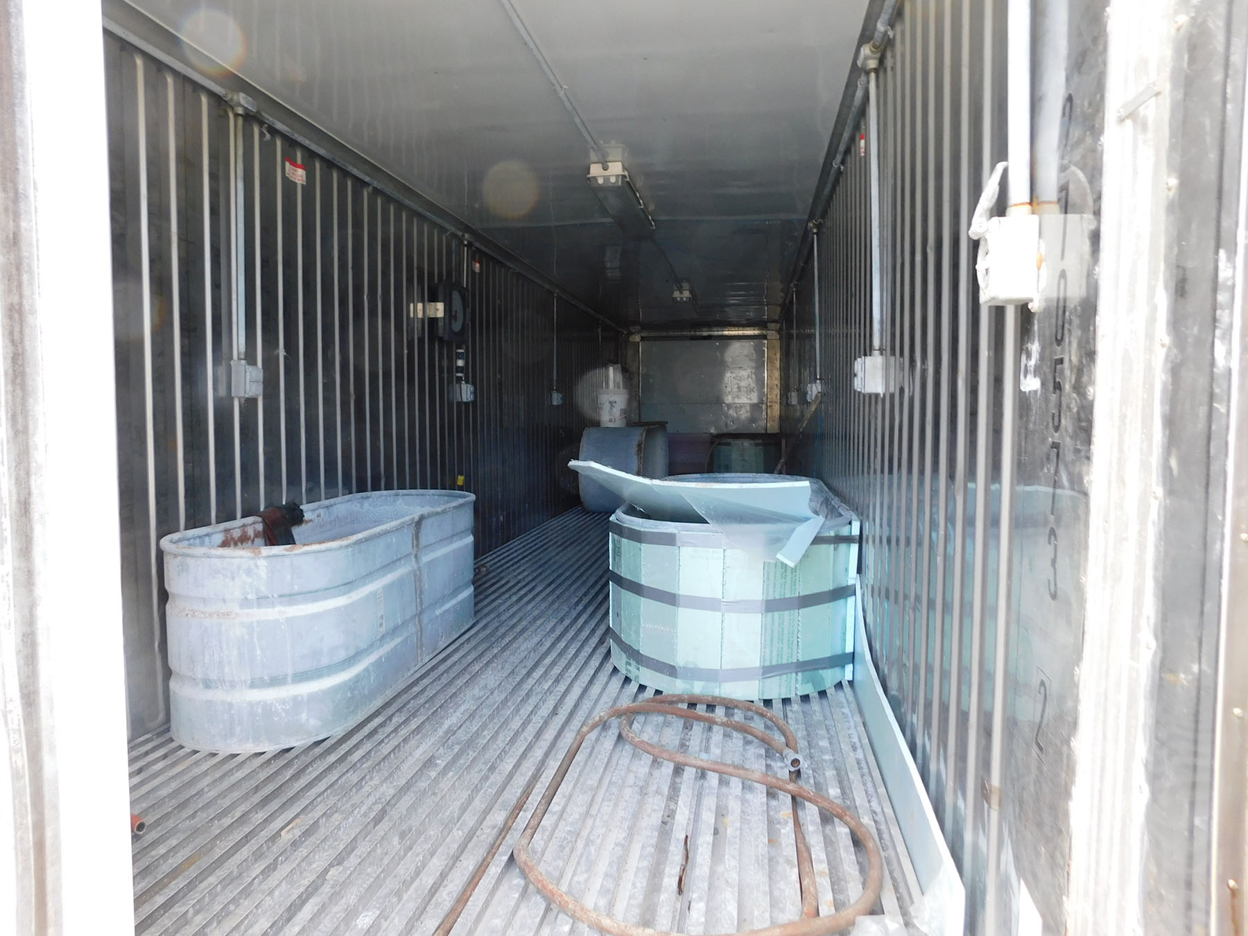 Lot 2040 - (2) STORAGE CONTAINERS