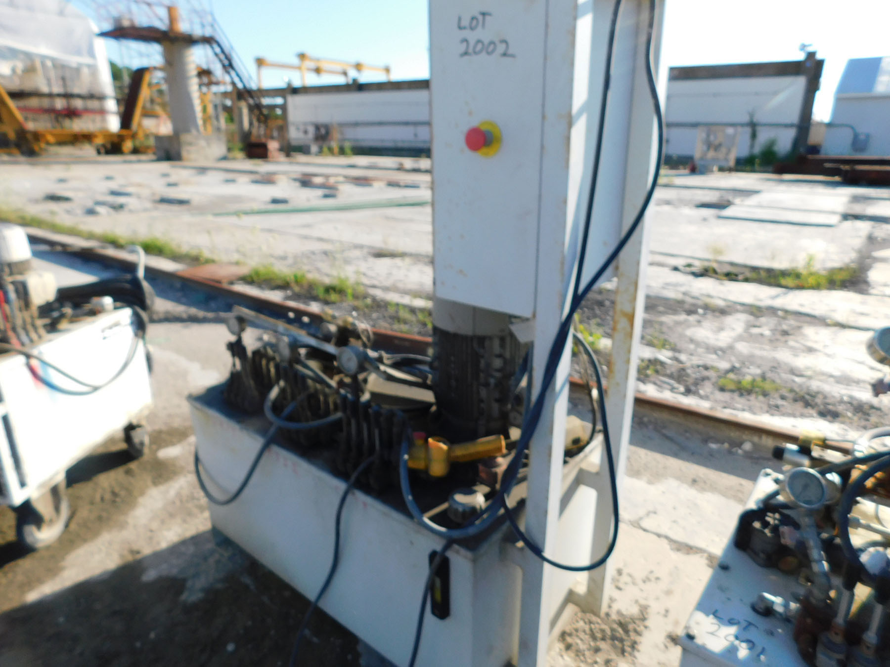 Lot 2002 - 2014 RAMA FLUID HYDRAULIC POWER SYSTEM