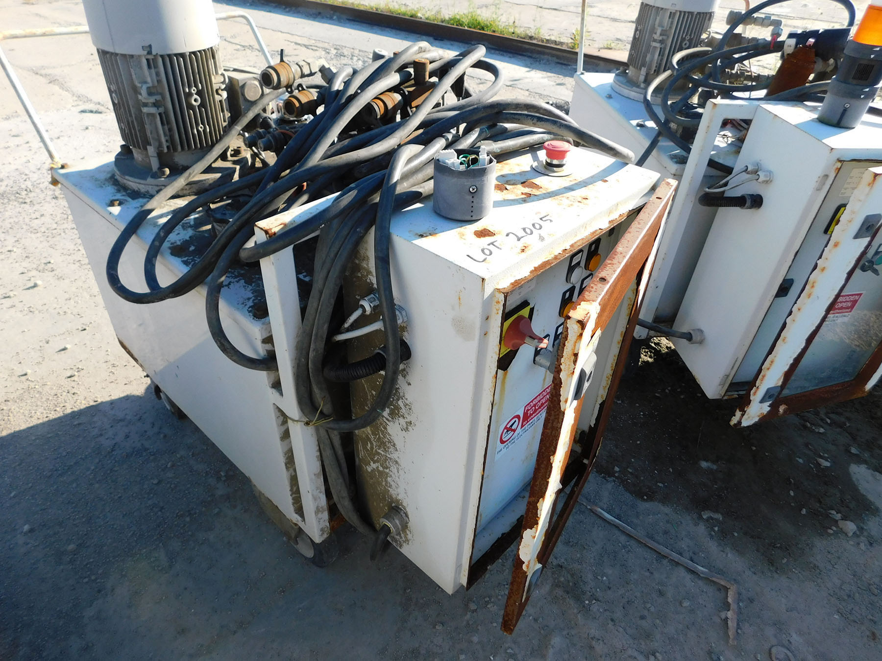 Lot 2005 - 2013 RAMA FLUID SRL HYDRAULIC POWER SYSTEM