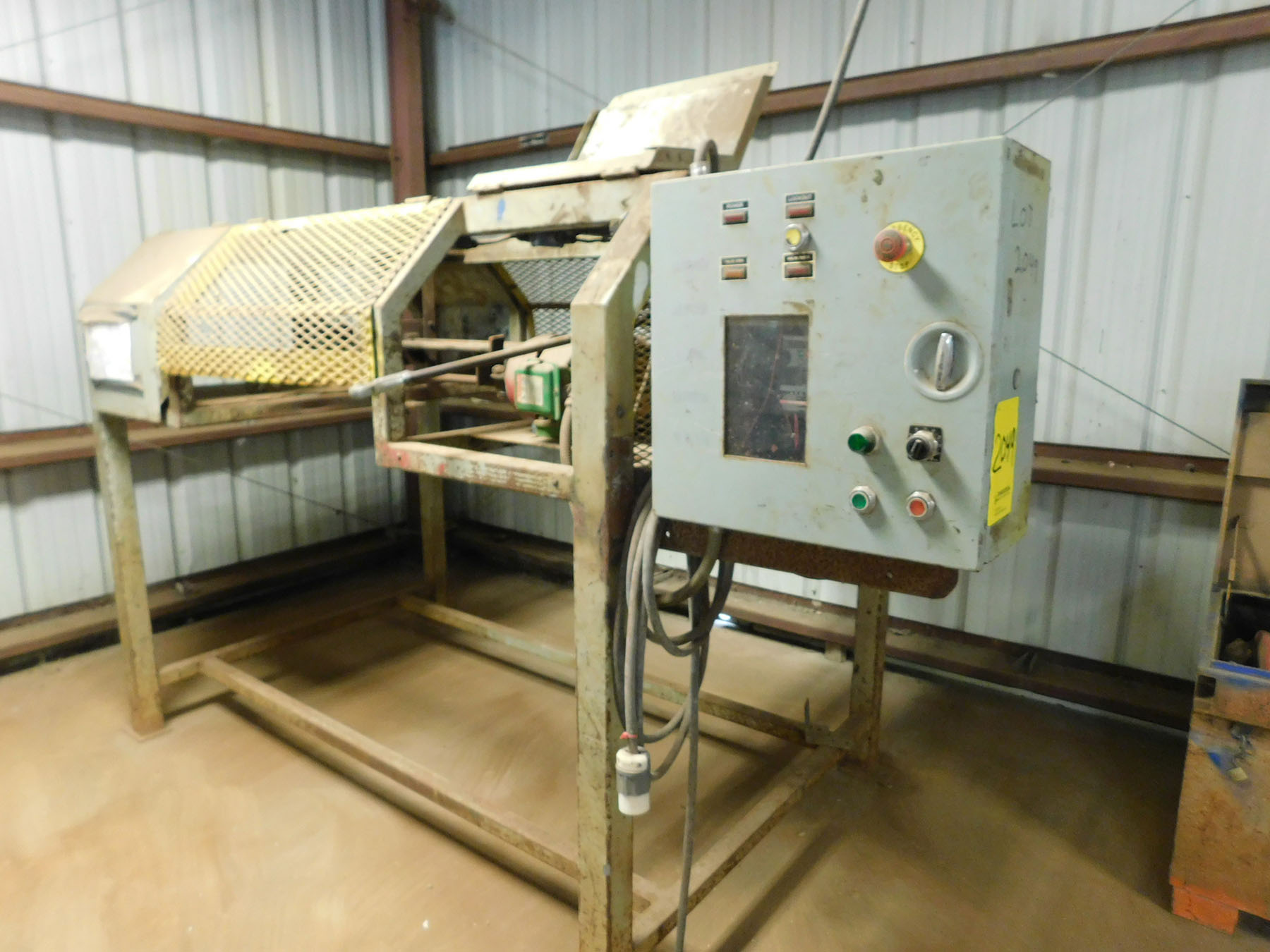 Lot 2049 - WIRE BENDING MACHINE