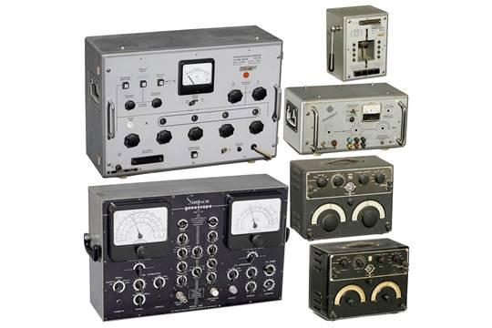 Radio-related Service and Laboratory Equipment, 1950s 1) Telefunken