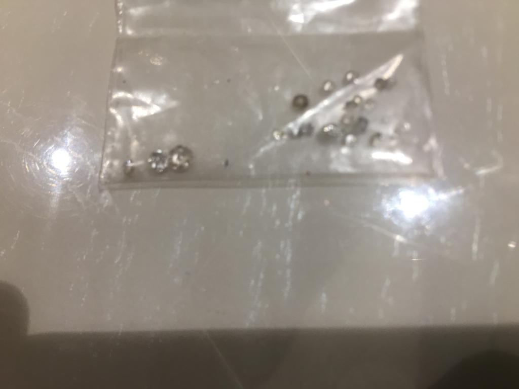 Lot 25 - SMALL BAG OF LOOSE REAL DIAMONDS TOTAL 2CT